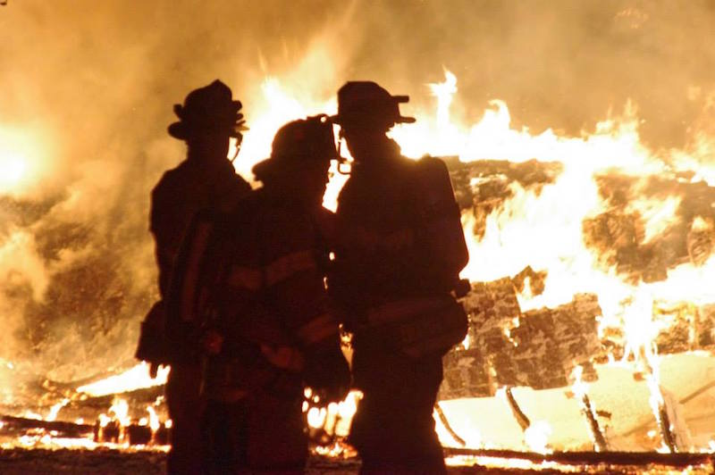 Looking back: Garage Fire On Albany St.