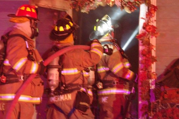 House Fire On Curry Road
